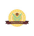 Agricultural Logo vector image vector image