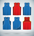 Basketball Jerseys vector image
