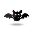 halloween clip art character of happy bat vector image vector image