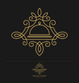 royal food - luxury restaurant logo template vector image vector image