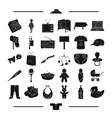 Textiles equipment transportation and other web vector image