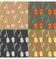 Flower seamless pattern Art vector image