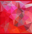 abstract irregular red polygon background vector image vector image