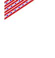 american corner usa symbol frame vector image vector image