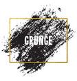 brush stroke card vector image vector image