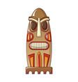 ethnic idol icon cartoon style vector image vector image
