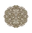 gold vintage element vector image