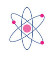 isolated atom icon design vector image vector image