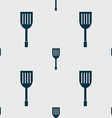 Kitchen appliances icon sign Seamless abstract vector image vector image