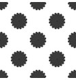 seamless pattern with round black objects similar vector image