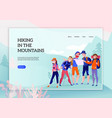 travelers web banner vector image