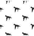 UZI weapon icon cartoon Single weapon icon from vector image vector image