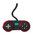 videogame controller icon vector image vector image