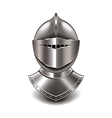 knight helmet isolated vector image