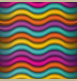 abstract waving colors background vector image vector image