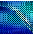 Beautiful blue mosaic vector image