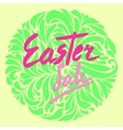 easter sale flyer vector image vector image