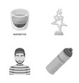 food justice and other monochrome icon in cartoon vector image vector image