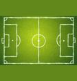 football green field vector image
