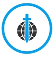 Global Guard Icon vector image