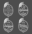 motivation quote about lemons vector image vector image