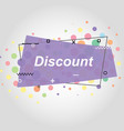 violet flat speech bubble shaped banners vector image