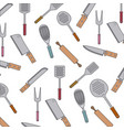 white background with pattern set collection of vector image vector image