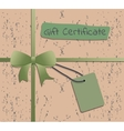 Voucher Gift certificate Ethnic style vector image