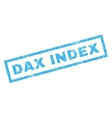 Dax Index Rubber Stamp vector image vector image
