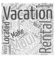 How to Choose the Perfect Maui Vacation Rental vector image vector image