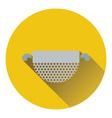 Kitchen colander icon vector image vector image