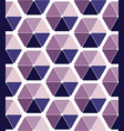 seamless pattern design with abstract hexagons vector image vector image