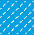 small candy pattern seamless blue vector image vector image