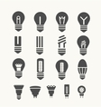 lamps vector image