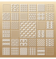 laser cut panels vector image vector image