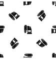 pneumatic hammer machine pattern seamless black vector image vector image