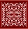 red bandana image vector image vector image