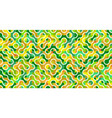 seamless green yellow pattern camouflage tiles net vector image
