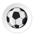 Soccer ball icon cartoon style vector image vector image