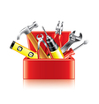 tools box isolated vector image