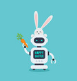 chatbot in vector image vector image