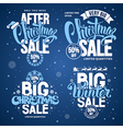 Christmas sale vector image vector image