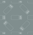 cinema tickets seamless texture for your vector image vector image