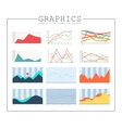 Infographics collection design elements vector image vector image