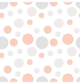 Minimal hand drawn seamless pattern with circles vector image vector image