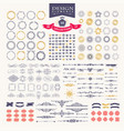 premium design elements great for retro vintage vector image vector image
