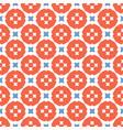 retro gingham polka dots seamless pattern vector image vector image