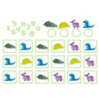education counting game vector image vector image