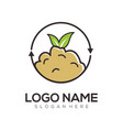 environment logo and icon design vector image vector image