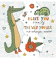 I like you exactly the way you are no changes vector image vector image